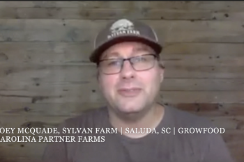 GrowFood Carolina Partner Farmer, Joey McQuade