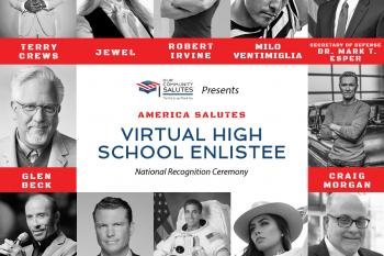 America Salutes: A Tribute to the Class of 2020 High School Enlistees